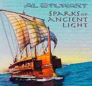 Sparks of Ancient Light - Image: Al Stewart Sparks of Ancient Light cover