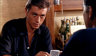 Tom Ripley - Alain Delon as Tom Ripley in Purple Noon