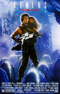 <i>Aliens</i> (film) 1986 American science-fiction action horror film by James Cameron