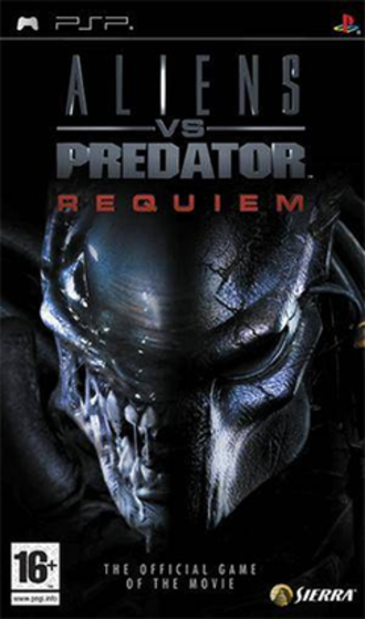 Aliens vs. Predator: Requiem (video game) - Image: Aliens vs. Predator Requiem Coverart