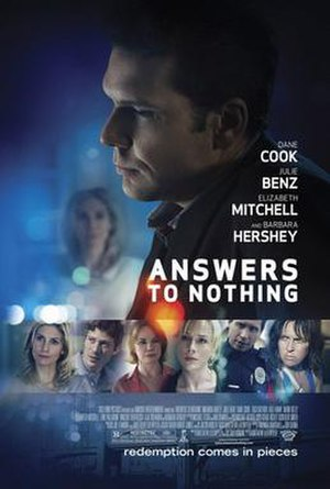 Answers to Nothing (film) - Theatrical release poster