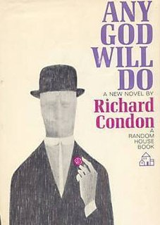 <i>Any God Will Do</i> novel by Richard Condon