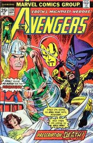 Whirlwind (comics) - Image: Avengers 139