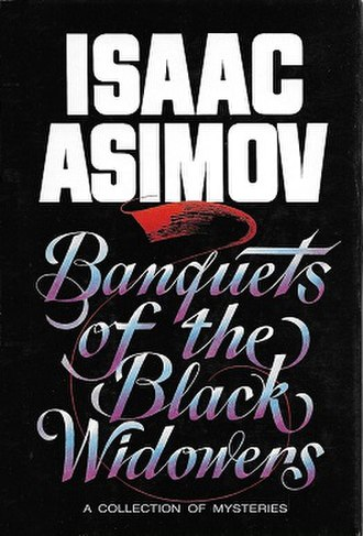 Banquets of the Black Widowers - Cover of first edition, 1984