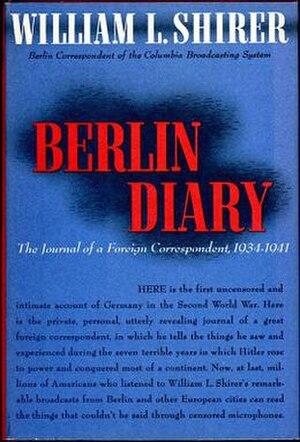 Berlin Diary - Image: Berlin Diary