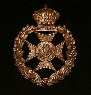 Bermuda Volunteer Rifle Corps - Bermuda Volunteer Rifle Corps cap badge