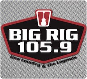 KKBO - Image: Big Rig 105.9