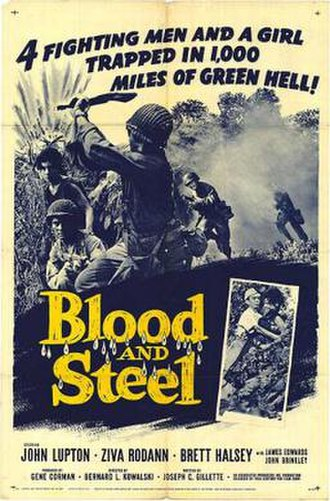 Blood and Steel (film) - Theatrical release poster