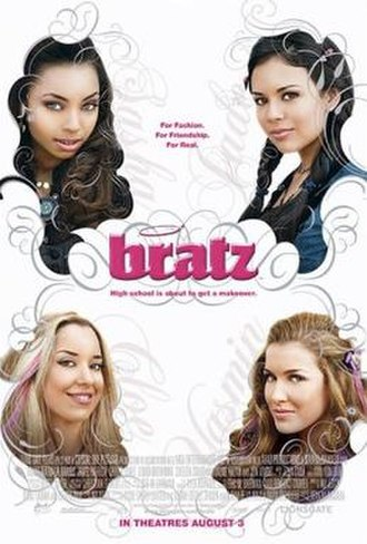 Bratz (2007 film) - Theatrical release poster