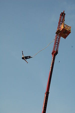 Bungee Jumping at Rock Ethos 2008