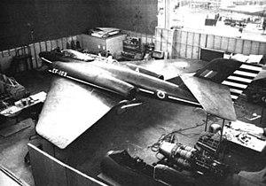 Avro Canada CF-103 - CF-103 mock-up at the Avro company