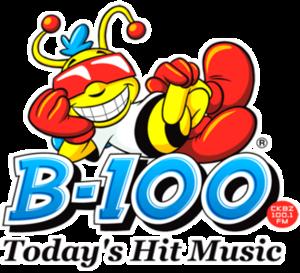 CKBZ-FM - Image: CKBZ B 100 logo