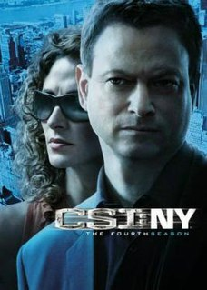 <i>CSI: NY</i> (season 4) Season of American television series