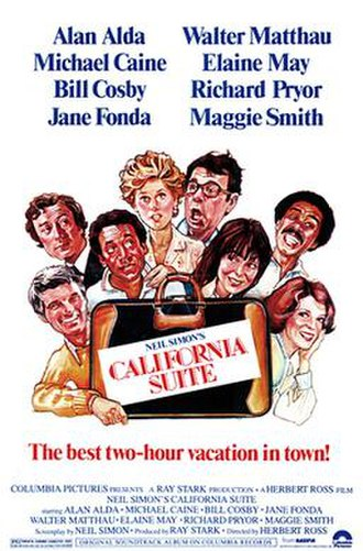 California Suite (film) - Theatrical release poster by Nick Cardy