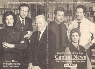 Capital News - Series premiere print advertisement