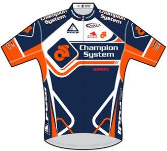 Champion System - Image: Champion System jersey