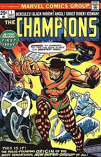 <i>Champions</i> (1975 team) Team of superheroes