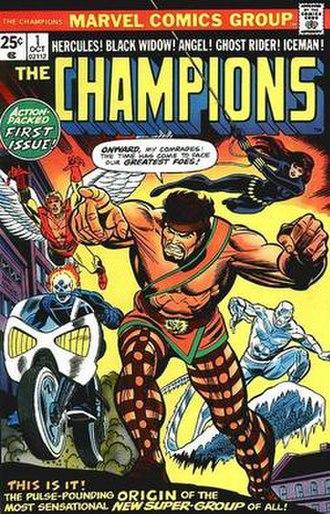 Champions (1975 team) - Image: Champions 1