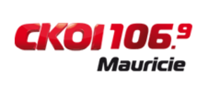"CKOB-FM - Logo as ""CKOI 106.9"", 2011-2012"