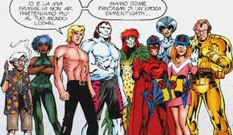 Alan Davis - Davis created The ClanDestine for Marvel.