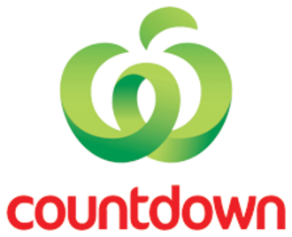 Countdown (supermarket) - Image: Countdown (supermarket) logo