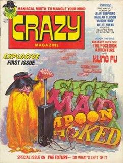 <i>Crazy Magazine</i> American illustrated humor magazine