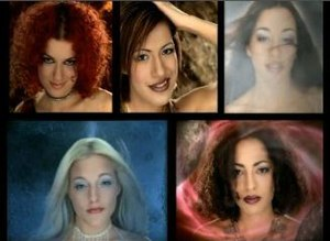 Daylight in Your Eyes - In the video, each of the five girls represented a different element.