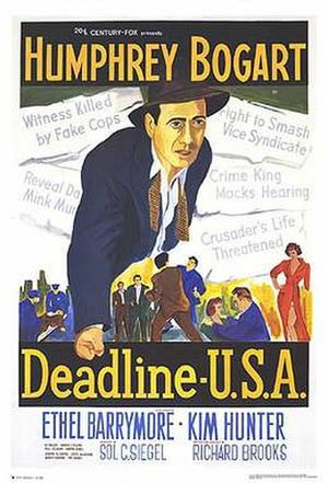 Deadline – U.S.A. - Theatrical poster