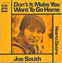 Image result for don't it make you want to go home joe south single images