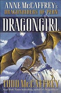 <i>Dragongirl</i> book by Todd McCaffrey