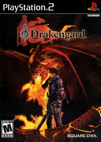 Drakengard (video game) - Image: Drakengard US Cover art