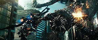 Transformers: Dark of the Moon - Considerable digital animation was required for the elaborate Driller as it comprised over 70,000 parts, significantly more than Optimus Prime's 10,000 parts