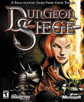 Dungeon Siege Official video game box art