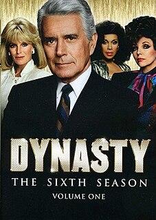 <i>Dynasty</i> (1981 TV series, season 6) Season of television series