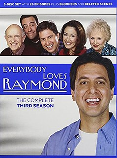 <i>Everybody Loves Raymond</i> (season 3) season of television series