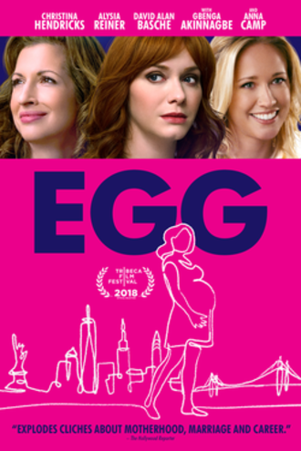 Egg (2018 film) - Theatrical release poster