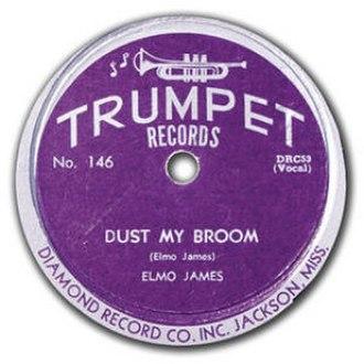 Dust My Broom - Image: Elmo James Dust My Broom on Trumpet