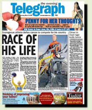 Peterborough Evening Telegraph - Image: Et front 215w