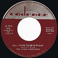 All I Have to Do Is Dream - Wikipedia