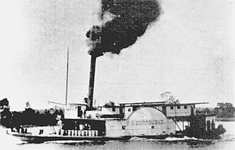 Myrtle Beach, South Carolina - The F.G. Burroughs steamship