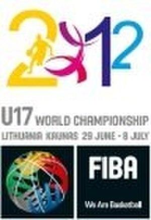 2012 FIBA Under-17 World Championship - Image: FIBA U 17 World Championship 2012 logo