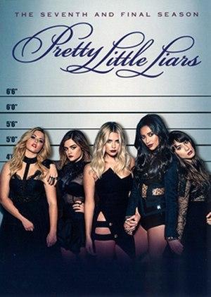 Pretty Little Liars (season 7) - Season 7 DVD Cover