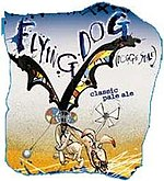 "Label of Flying Dog's ""Flying Dog Classic Pale Ale"""