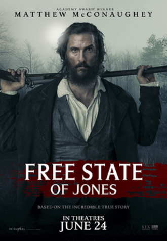 Free State of Jones (film) - Theatrical release poster