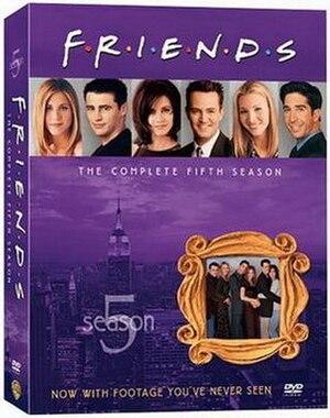 Friends (season 5) - Image: Friends Season 5 DVD