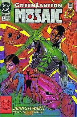 Green Lantern Mosaic Wikipedia