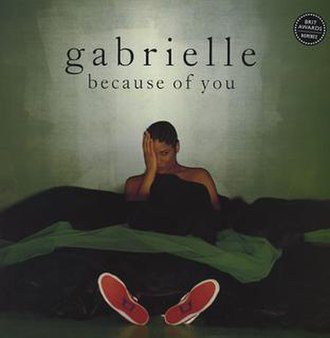 Because of You (Gabrielle song) - Image: Gabrielle Because Of You (CD 1)