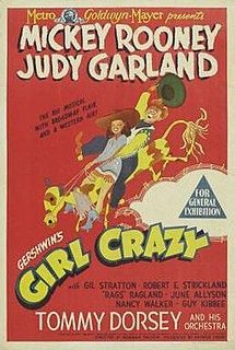 <i>Girl Crazy</i> (1943 film) 1943 film by Norman Taurog and Busby Berkeley