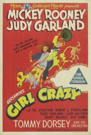 Girl Crazy (1943 film) - Girl Crazy film poster