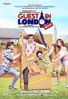 <i>Guest iin London</i> 2017 film by Ashwini Dhir